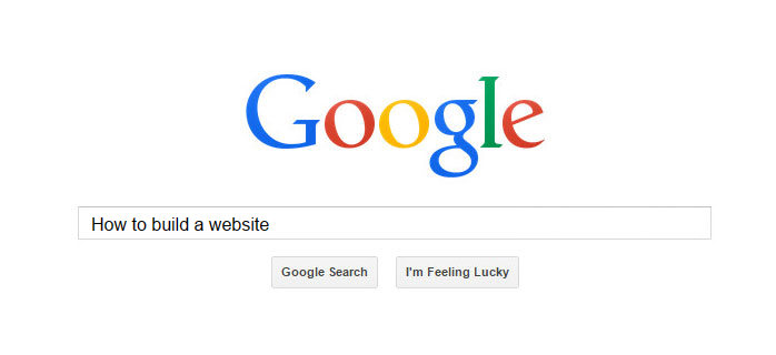 how to build a google website
